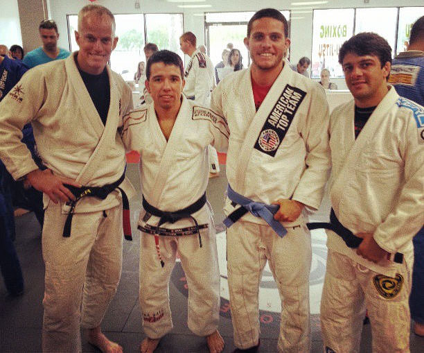 Brazilian Jiu-Jitsu Naples - Instructor Fletcher Fuller