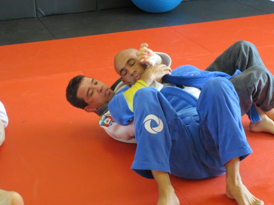 Brazilian Jiu-Jitsu Naples training at RMNU